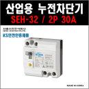 서울산전 산업용 누전차단기 SEH-32 2P-30A