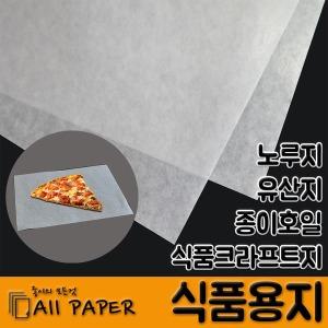 식품용지/종이호일/노루지/유산지/식품크라프트