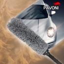 국산正品 향균 차량용 먼지털이개 원형털이개(외부용)