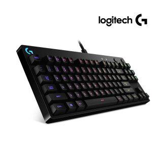 로지텍코리아 G Pro 게이밍 키보드 정품박스 RUN