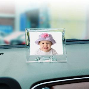 ZN 차량용 솔리드 포토프레임액자 - 가로(대형)