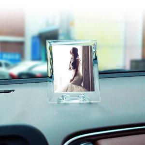 ZN 차량용 솔리드 포토프레임액자 - 세로(대형)