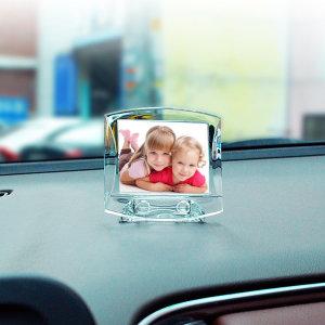 ZN 차량용 솔리드 포토프레임액자 - 가로(소형)