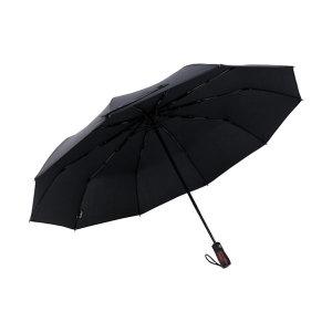 Lotosblume 3단 자동 우산 블랙 선물 중형 1~2인용