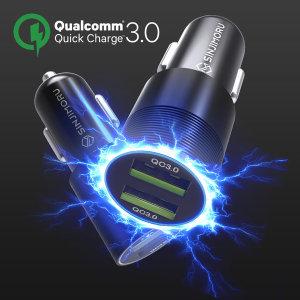 QC3.0/QC3.0-퀄컴3.0 듀얼 차량용 고속 충전기 시거잭