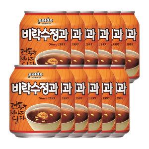 팔도 비락수정과 캔 238ml(캔)X1BOX(총12개)