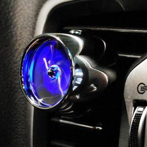 ZN 제트엔진 차량용 송풍구방향제-블루 라임바질향