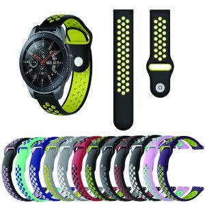 갤럭시워치 기어 스포츠 방수 밴드 시계줄 20mm 22mm
