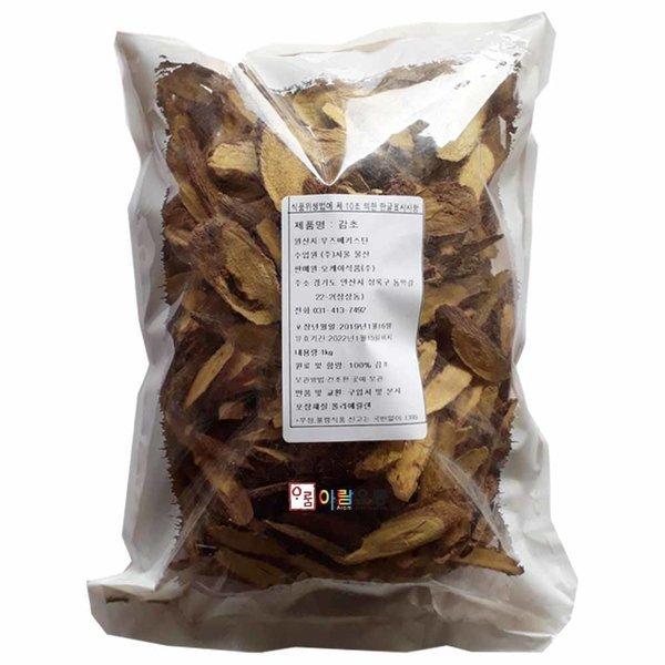 오케이식품/감초(우즈베키스탄) 1kg