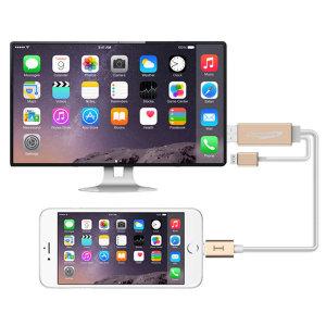 아이폰 TV연결 HDMI 미러링 MHL케이블 AP-MW8