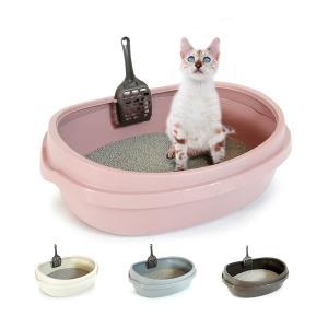 고양이화장실 평판 대형 고양이 배변용품 토일렛
