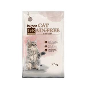 이즈칸 그레인프리 중성화 체중관리 5kg 고양이사료