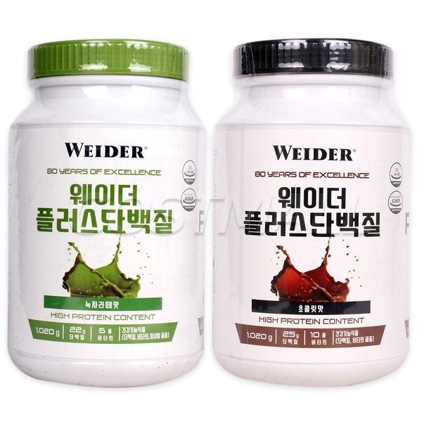 웨이더 플러스 프로틴 단백질 보충제 1020g/1.02kg