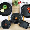 인덕션 냄비+후라이팬 5종세트 팬3+냄비2 세트