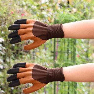 가든장갑 갈고리 양손형 원예장갑 텃밭관리 농사 안전