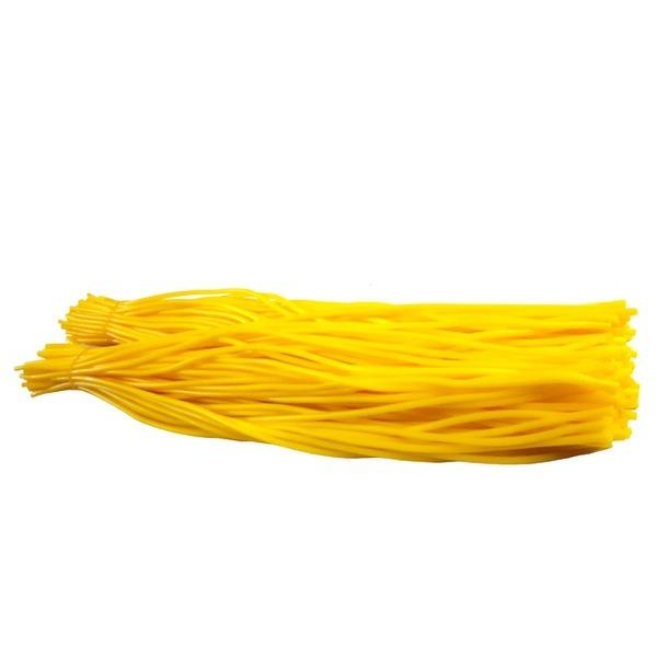 찰노란고무줄밴드 100개 긴 기저귀 문구사무용 소모품