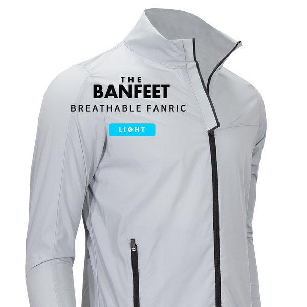 반피트 얇고 가벼운 바람막이 재킷 남자자켓 골프웨어