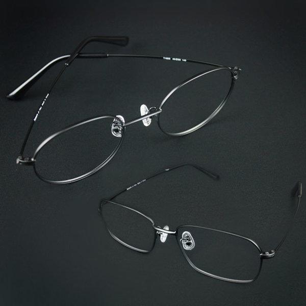 국산 동글이 사각 초경량 베타 티타늄 안경테