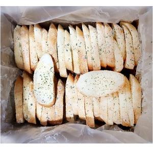 오룡 냉동 마늘빵 양면 마늘바게트 1kg 업소용