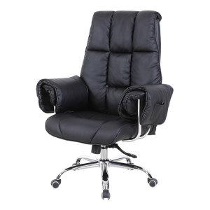 중역의자 사무실 책상 의자 타이탄로얄플러스 블랙