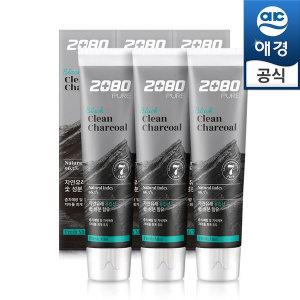 2080 퓨어 블랙치약 차콜민트 120gx6개