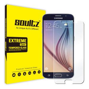 솔츠 삼성 갤럭시 S6 용 강화유리 필름 방탄 액정보호