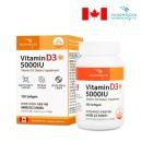 비타민D 5000IU 연질캡슐 125mgx100캡슐