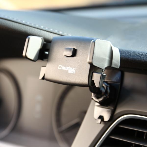 카멜레온360 미니 블랙 차량용 핸드폰 휴대폰 거치대