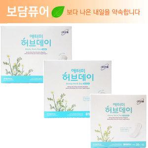 애터미 여성용품 허브데이 생리대/여성청결제 애담