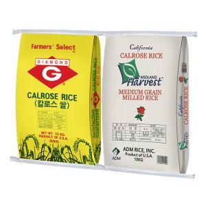 미국쌀 칼로스 10kg+10kg 수입쌀 18년산(박스포장)