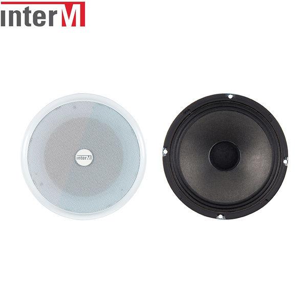 인터엠 천정형 스피커 비상방송용 금속재질10W CS-610M