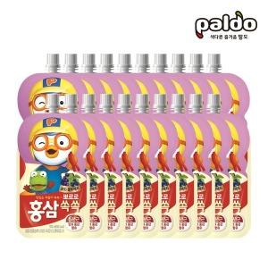뽀로로홍삼쏙쏙 포도블루베리파우치100ml총20개(2BOX)