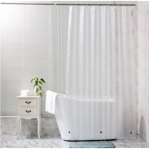 3D 워터큐브 샤워커튼 욕실커튼 반투명 비닐커튼 커튼