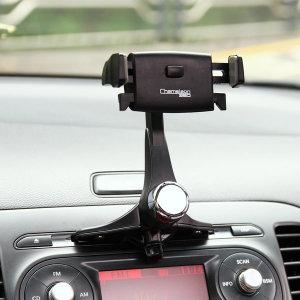 카멜레온360 CD형 블랙 원터치 차량용 핸드폰 거치대
