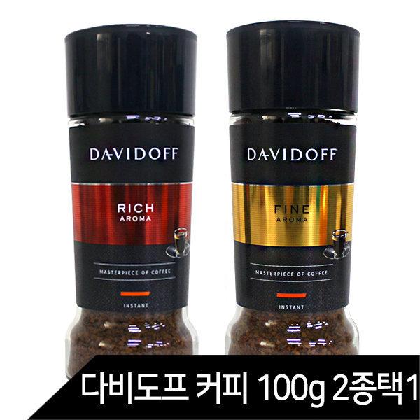 다비도프 커피 리치아로마 파인아로마 인스턴트 100g