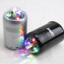 OMT 미러볼 LED 조명 블루투스스피커 OBS-M16 블랙