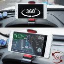 360도회전 차량용 계기판 휴대폰 거치대 F-35 화이트