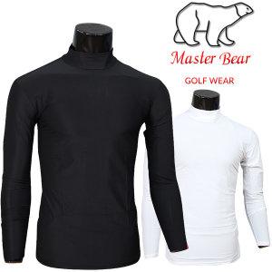 (남성) Master Bear 타이틀아쿠아 티셔츠 골프웨어