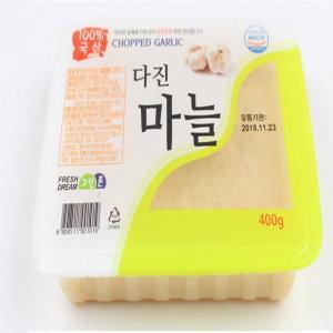 100%국산 다진마늘 1 kg / 냉장 - 냉동 선택