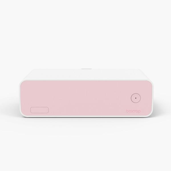 에이블루 원스위치 멀티탭 정리함 AB501 핑크