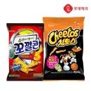 매콤달콤맛 (꼬깔콘72g+치토스 88g)