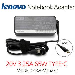 레노버 20V3.25A 65W TYPE-C PowerAdapter 4X20M26272