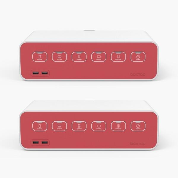 에이블루 박스탭 USB형 1+1 SET 레드벨벳