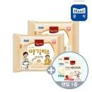 상하 유기농 아기치즈2단계 18g x 80매 +비타치즈증정