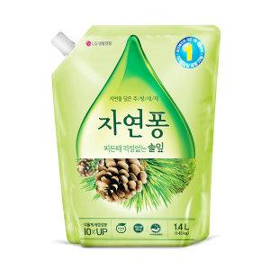 자연퐁 솔잎 리필 1.4L