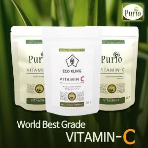100% 순수 분말 비타민C - 영국 DSM  外