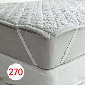 (바숨) 바숨 순면누빔 고정밴딩 패밀리 침대패드 SS+K (270 200cm)