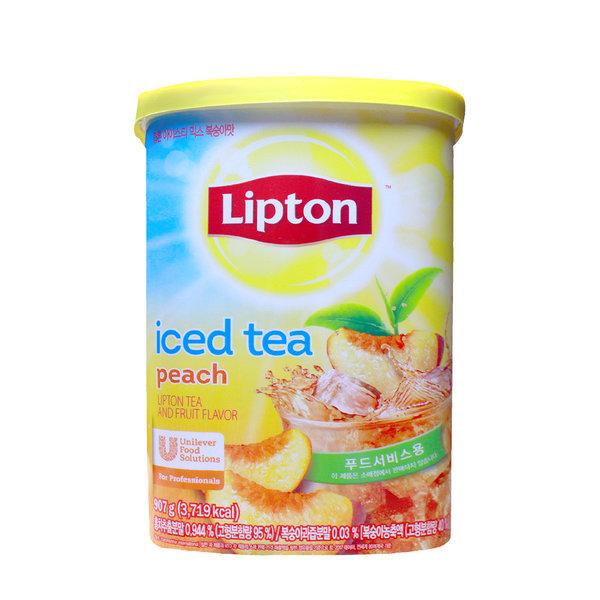 립톤 아이스티 907g 복숭아맛