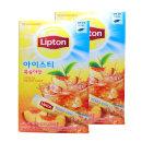 립톤 스틱 20t 복숭아맛x2개