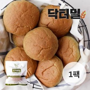 닥터밀  오직통밀 쑥모닝빵 1팩